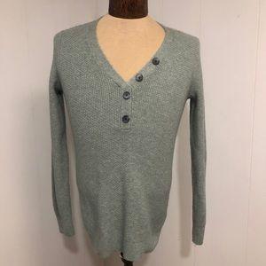 Womens Denver Hayes Soft light Green Sweater. Med